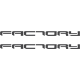 Aprilia factory lettering