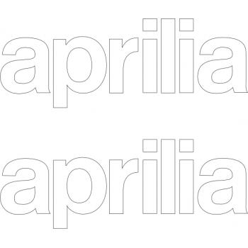 Aprilia lettering