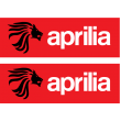 Aprilia colour sticker - lion