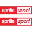 Aprilia sport sticker
