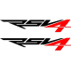 Aprilia RSV4 sticker - Shadow