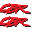 Honda CBR stickers - Alternative