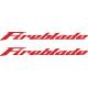 Honda Fireblade stickers - Alternative