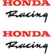 Honda Racing stickers