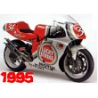 GP500 Suzuki Lucky Strike decal set