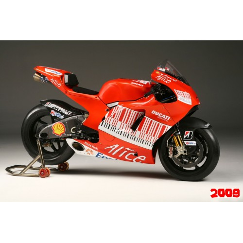 MotoGP Ducati Factory decal set
