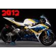 SBK BMW Motorrad Italia Goldbet decal set
