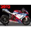 SBK Ducati Althea Racing sticker set