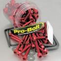 Pro Bolt aluminium 100 piece engine / fairing assortment