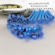 Pro Bolt aluminium 25 piece workshop assortment