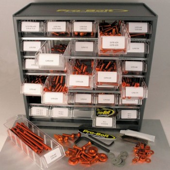 Pro Bolt stainless steel 500 piece workshop assortment