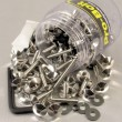 Pro Bolt stainless steel 200 piece nut and bolt assortment