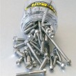 Pro Bolt stainless steel 100 piece flanged hex bolt assortment