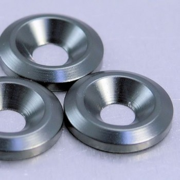 Aluminium countersunk washer