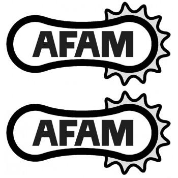 AFAM stickers - Single colour