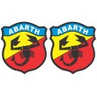 Abarth stickers - Colour