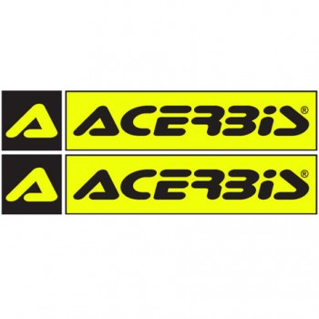 Acerbis stickers - colour with lettering