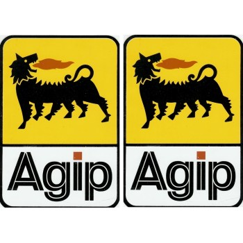 Agip decals - Colour rectangle