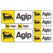 Agip sticker set