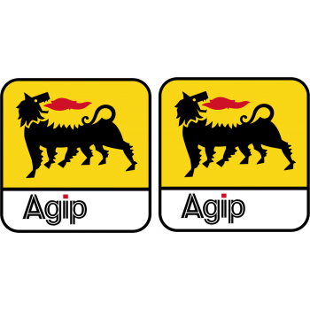Agip decals - Colour square