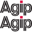 Agip Lettering