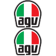 AGV Flat Bottom Decal