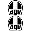 AGV - Single Colour Decal