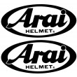 Arai stickers - Colour