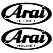 Arai Helmets Sticker