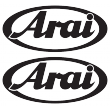 Arai - Single Colour Sticker