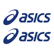 Asics 1 Decal