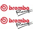 Brembo Racing stickers - Colour