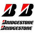 Bridgestone sticker set