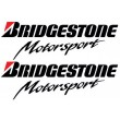 Bridgestone Motorsport stickers - Colour
