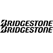 Bridgestone Lettering - Single Colour Decal