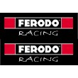 Ferodo Racing stickers - Colour