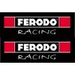 Ferodo Racing stickers - Colour