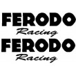 Ferodo Racing stickers - Single Colour