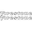 Firestone - Single Colour Decal