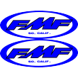 FMF Blue Sticker