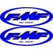 FMF Blue Sticker