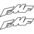 FMF Skewed Decal
