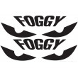 Fogarty stickers - Single colour