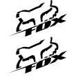 Fox decals - Sideways