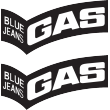 Gas Black Decal