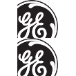 General Electric General Electric 2a Sticker