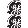 General Electric General Electric 3a Decal