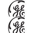 General Electric General Electric 3b Sticker