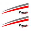 West sponsor sticker - Alternative