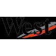 West sponsor sticker - Black
